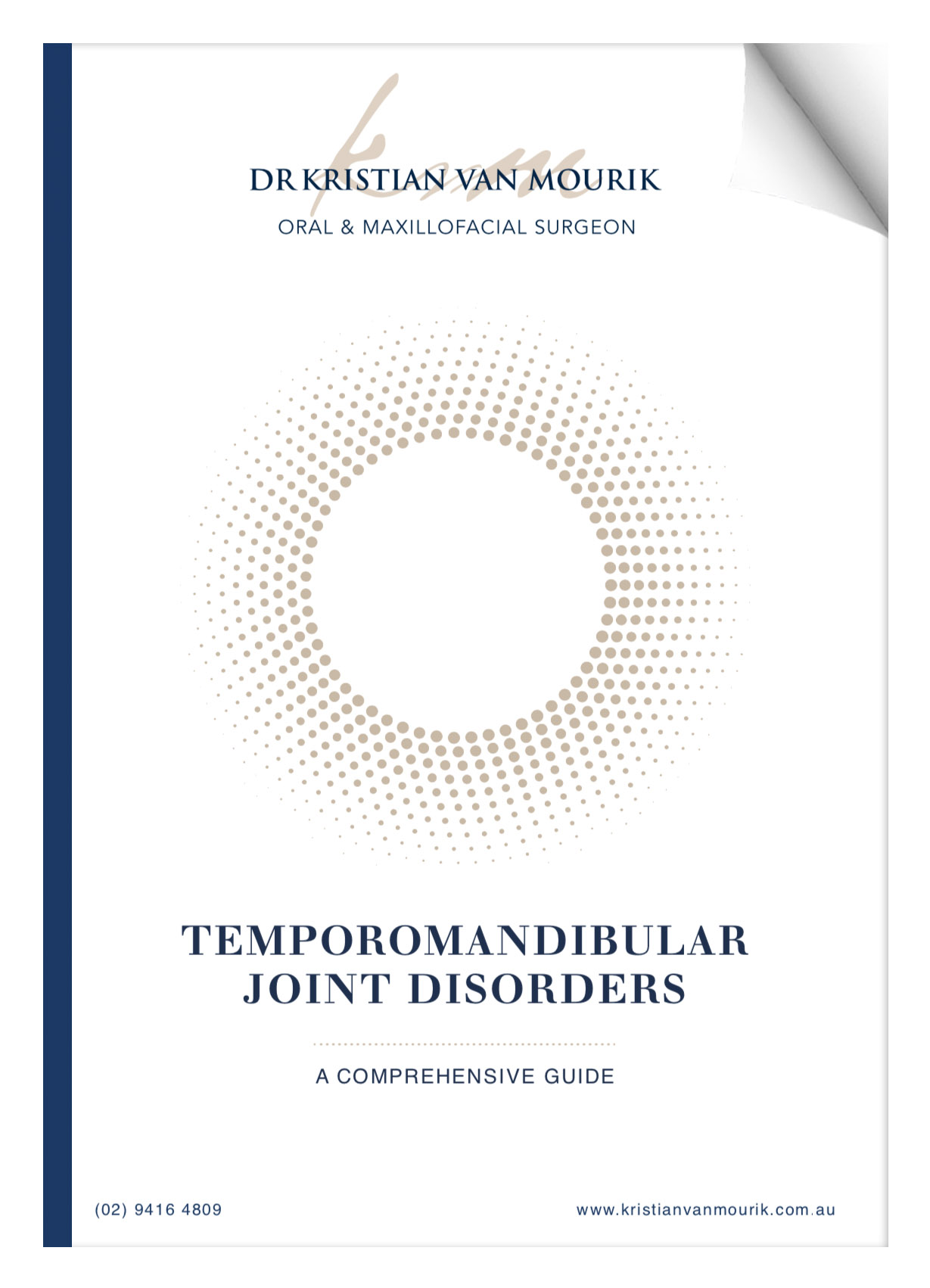 temporomandibular joint guide